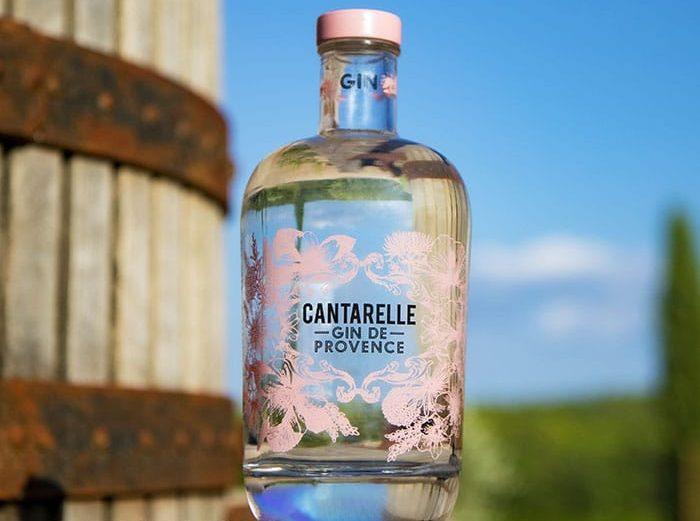 gin van domaine de cantarelle – provence
